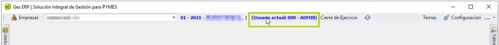 Botón de acceso a configuración usuarios