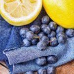 uvas y limones